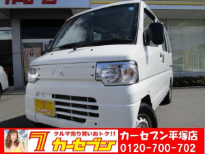 三菱 ミニキャブバン CD ハイルーフ 4WD 5速MT ワンオーナー