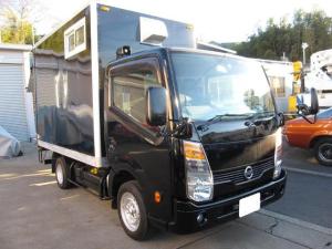 日産 アトラストラック  キッチンカ- 8ナンバ-登録車