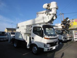 トヨタ ダイナトラック  高所作業車 愛知車両製SN15B 低騒音サブエンジン付 電工仕様