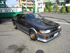 トヨタ カローラレビン GT APEX 4AG&HKSスーパーチャージャー ステンレスタコ足 柿本マフラー TE37 車高調 4ポッドキャリパー フル装備 R134a AE86