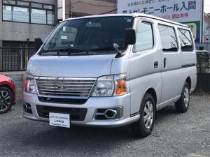 日産 キャラバン ロングDX ナビTV キーレス ETC ガソリン車 2WD