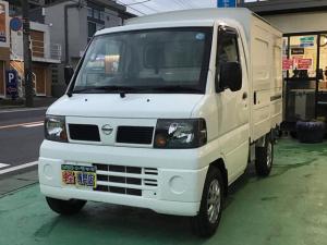 日産 NT100クリッパートラック  パネルバン MT 4WD AC 走行7万km台