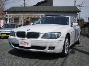 BMW 7シリーズ 740i 黒革シート サンルーフ 純正ナビ キーレス クルーズコントロール 整備手帳 取説