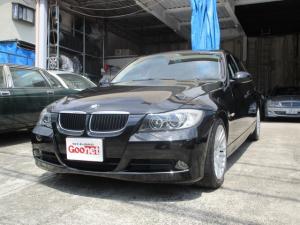 BMW 3シリーズ 320i 黒革シート Pスタート 社外ナビ ETC Sキー 取説