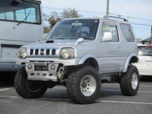 スズキ ジムニー XC 4WDターボ リフトアップ 社外AW オーバーフェンダー 社外マフラー