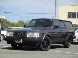 ボルボ 240ワゴン  タック 最終モデル ブラックレザーシート 記録簿 ETC