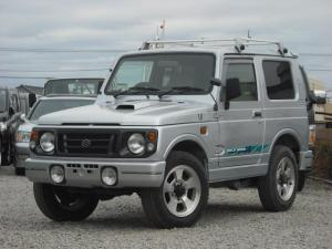 スズキ ジムニー ワイルドウインド 4WDターボ パワステ シートカバー ルーフラック 背面タイヤ