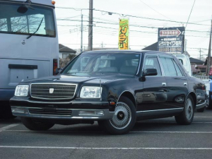 トヨタ センチュリー 標準仕様車 ドアミラー 純正ブラック