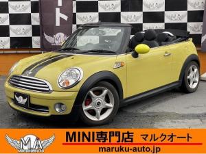 MINI クーパーS コンバーチブル 革シート シートヒーター Rウイング