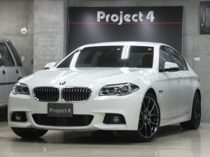 BMW 5シリーズ 535i Mスポーツ ワンオーナー 禁煙車 黒革シート アダプティブLEDヘッドライト 純正オプション20インチAW Vスポークスタイリング356装着 サイドビューカメラ バックカメラ パークディスタンスコントロール