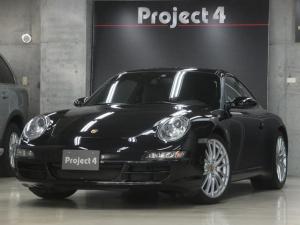 ポルシェ 911 911カレラS ティプトロニックS 左ハンドル 正規D車 黒革シート サンルーフ 純正19インチAW 屋内保管 禁煙車