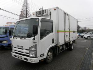 いすゞ エルフトラック ロングフルフラットロー 冷凍車 -7℃設定 ETC HSA