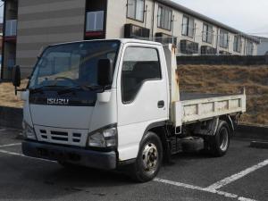 いすゞ エルフトラック 2tダンプ 5MT NOX適合 フル装備