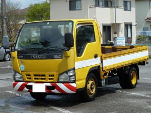 いすゞ エルフトラック 2t低床 スムーサー5MT 荷台鉄板