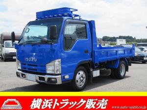 いすゞ エルフトラック 強化ダンプ 積載2t アイドリングストップ キーレス 坂道発進補助 ルーフラック サイドバイザー D席エアバック