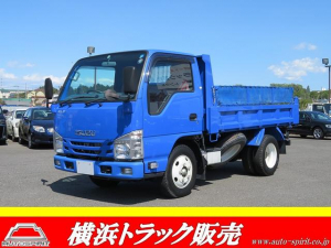 いすゞ エルフトラック 強化ダンプ 積載2t コボレーン キーレス 坂道発進補助 ETC AM/FM