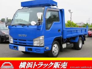 いすゞ エルフトラック 強化ダンプ 全低床 積載2t キーレス 強化ダンプ 坂道発進補助 ルーフラック