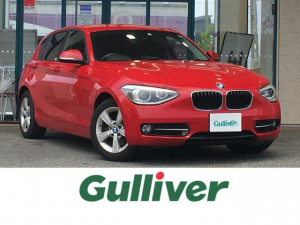 BMW 1シリーズ 116i スポーツ 純正メーカーHDDナビ バックカメラ ミュージックサーバー スマートキー プッシュスタート ステアリングスイッチ アイドリングストップ ETC 純正フロアマット