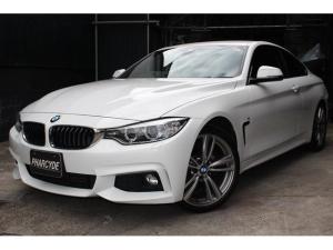 BMW 4シリーズ 420iクーペ Mスポーツ ARQRAY4本出しマフラー 純正19インチ バックカメラ 地デジ ETC インテリジェントセイフティー HDDナビ DVD再生