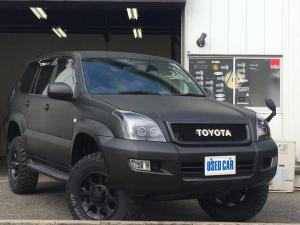 トヨタ ランドクルーザープラド TX リフトアップ 新品MTタイヤ 新品シートカバー