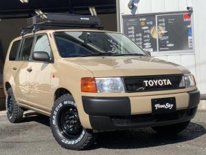 トヨタ プロボックスバン リフトアップ 新品シートカバー カスタム 新品MTタイヤ