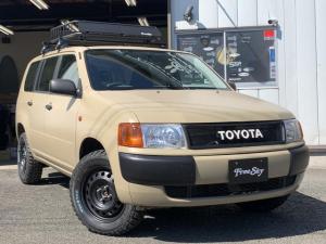 トヨタ プロボックスバン DX リフトアップ 新品MTタイヤ 新品シートカバー