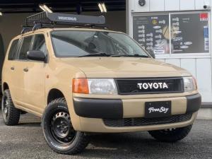 トヨタ プロボックスバン GL リフトアップ 新品シートカバー 新品MTタイヤ