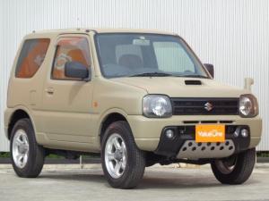 スズキ ジムニー ランドベンチャー ブラッシュペイント オリジナルペイント仕上げ ターボエンジン 4WD ブラウンレザーシート シートヒーター CD/FMチューナー
