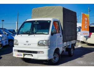 ダイハツ ハイゼットトラック スペシャル 幌付き 5速MT エアコン 記録簿