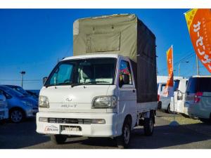 ダイハツ ハイゼットトラック ツインカムスペシャル エアコン・パワステ・4WD・幌室内有効高さ200cm・タイミングベルト交換済み