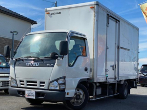 いすゞ エルフトラック  4.8バン パワーゲート サイドドア NOXPM適合 内寸L約4380×W約1780×H約2150
