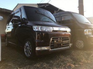 ダイハツ タント カスタムVSターボ スマートキー 寒冷地仕様 ナビ ワンセグTV 4WD
