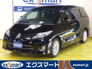 トヨタ エスティマ 2.4アエラス Gエディション 両側電動ドア 後席モニター