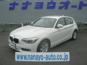 BMW 1シリーズ 116i 純正HDDナビBカメラ ブレーキアシスト