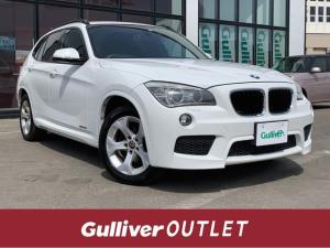 BMW X1 xDrive 20i 4WD/純正ナビ/CD/DVD/AM/FM/AUX/ワンセグテレビ/バックカメラ/アイドリングストップ/プッシュスタート/ETC/HID/横滑防止装置/オートライト/オートエアコン/フォグランプ