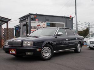 日産 プレジデント ソブリン 4輪マルチリンクサスペンション仕様 ロングボディ 純正マルチビジョン 本革シート ETC 取説 新車保証書 G50最終後期型