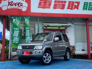 三菱 パジェロミニ XR キーレスエントリー パートタイム4WD エアバック 電格ミラー ワンオーナー パワステ AC