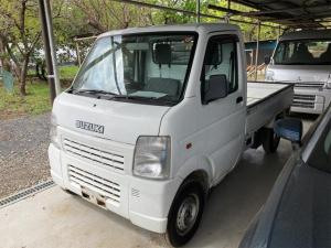 スズキ キャリイトラック KCエアコン・パワステ 4WD AC 軽トラック 2名乗り ホワイト