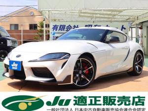 トヨタ スープラ RZ/赤レザー/LEDライト/ETC/トヨタセーフティセンス
