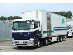 UDトラックス クオン 冷蔵冷凍車4軸低床