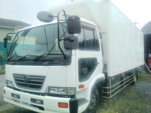 日産ディーゼル コンドル 冷凍冷蔵車 増トン 5.9トン ワイド ロング 格納ゲート