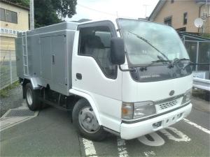 いすゞ エルフトラック 高圧洗浄車 シンショー SJD-20100 PTO 1800