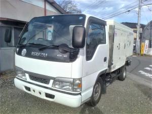 いすゞ エルフトラック シンショー 高圧洗浄車PJB-2036EL SJD-2153 エコジェッター  ビルメンテナンス ビルメンテ PJB-2036EL SJD-2153 ディーゼル