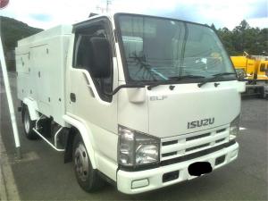 いすゞ エルフトラック 2トン 2t 高圧洗浄車 清掃車 洗浄車 シンショー 上物9年式 シンショー パワージェッター PJ-2A687 SJ-2773 ビルメンテ