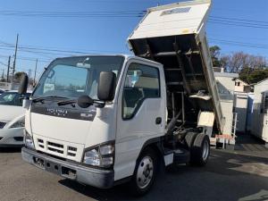いすゞ エルフトラック 強化ダンプ エアバック PW ETC 新明和 三方開 HSA 最大積載量2000kg