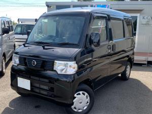 日産 NV100クリッパーバン GX ETC パワステ キーレス ABS CD エアコンパワステ ワンオーナー車 Wエアバック エアバック パワーウィンド