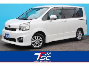 トヨタ ヴォクシー ZS 両側電動スライドドア/HDDナビ/フルセグ/Bluetooth接続/バックカメラ/HIDヘッドライト/純正16インチアルミ/ETC/MTモード/3列シート/ウォークスルー/