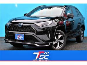 トヨタ RAV4 PHV G メーカー保証有/1オーナー/禁煙車/トヨタセーフティセンス/アダプティブクルーズ/シートヒーター/クリアランスソナー/4WD/パワーシート/革シート/ETC2.0/Bluetooth接続/バックカメラ