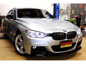 BMW 3シリーズ 320d Mスポーツ 正規ディーラー車 BMW320d シルバー インテリジェントセーフティ新品Mパフォリップ 新品Gタイプグリル 新品サイドミラーカバー バックカメラ クルコン パドルシフト