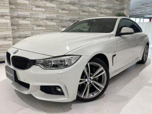 BMW 4シリーズ 435iクーペ Mスポーツ インテリセーフ ベージュ革 禁煙